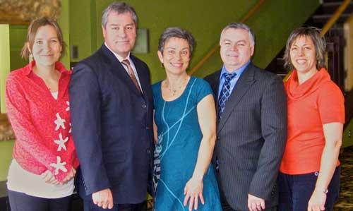 Accès Sages-Femmes Baie-des-Chaleurs obtient l'appui du Ministre Yves Bolduc et du député de Bonaventure, M. Damien Arsenault